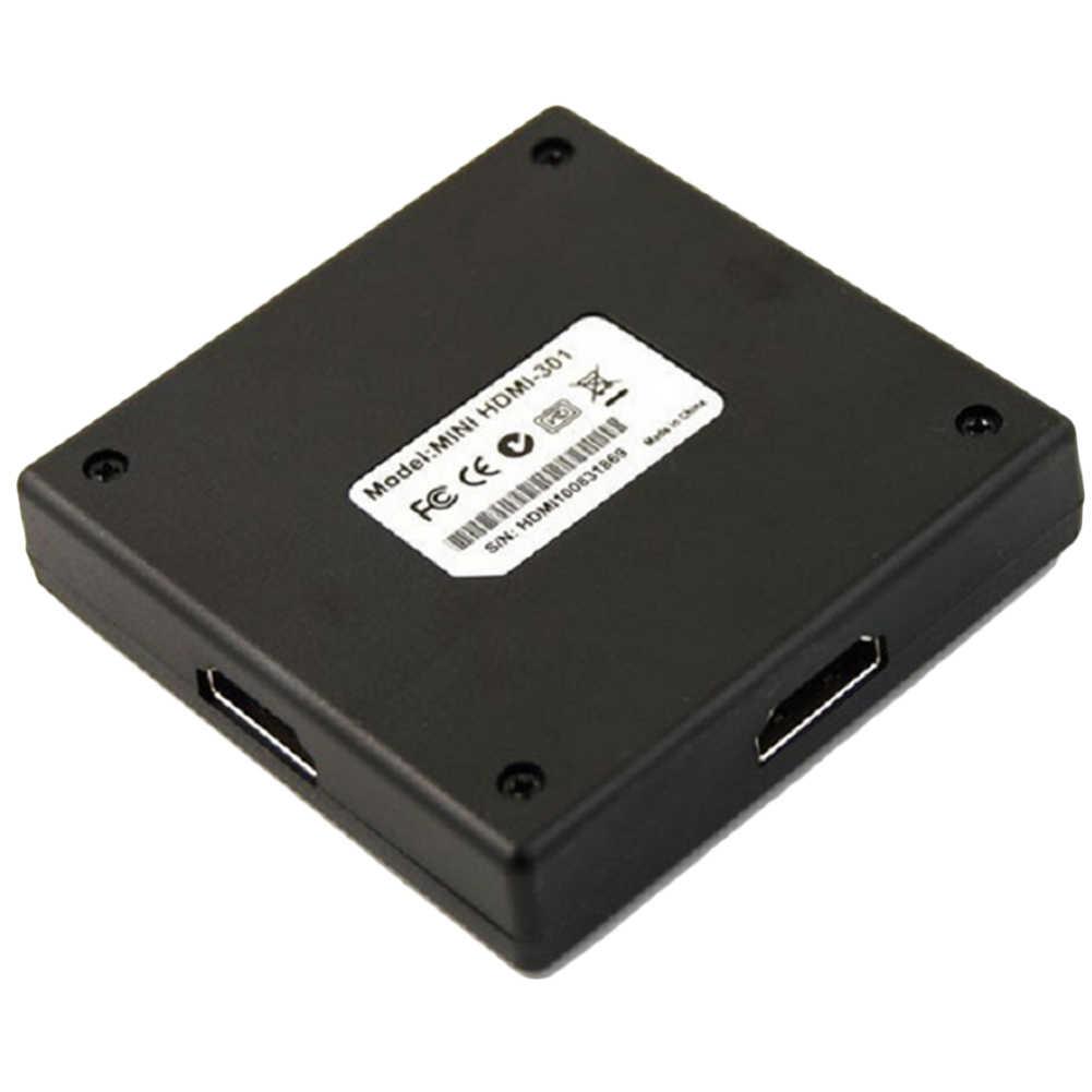 Câble de partage Audio pour HDTV DVD PSP4 3 en 1 3 ports HDMI Multi affichage boîte de moyeu de commutateur automatique 1080 P convertisseur séparateur #2