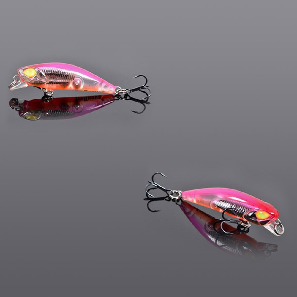 5pcs Trulinoya Minnow Bait 42mm/2.8g Fishing Lures Fly Fishing Tackle Hard Baits Isca Artificial Para Pesca Leurre Souple Peche