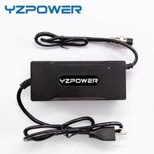 YZPOWER 12.6V7A 12.6V8A 12.6V5A Carregador De Bateria de Lítio com 3 3 ano de Garantia para 3X3.6 v X 3.7 v Li na bateria Li po 12 v