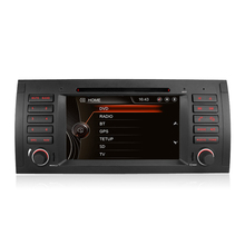 7 Inch Capacitive Contact Display Automotive DVD Participant For BMW E39 X5 M5 E38 E53 Canbus Radio GPS Navigation Bluetooth 3G free Map