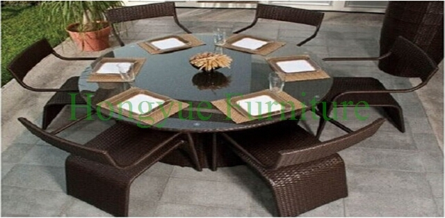 Patio dining sets furniture,home rattan dining sets