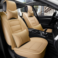 New car seat covers four seasons general all winter summer cushion cushion car surrounded sit full leather seat cover