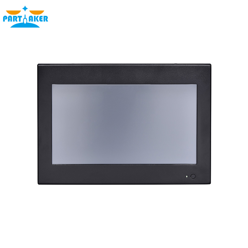 Partaker Z6 10.1 Inch LED Industrial Touch Panel PC With Intel Core I5 3317U Resistive All In One PC 4G RAM 64G SSD