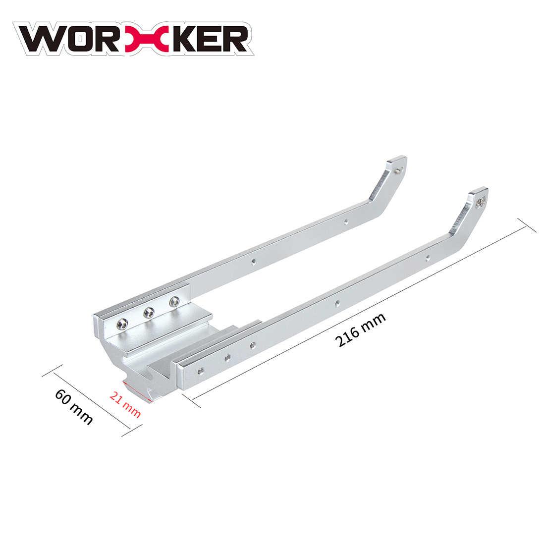 Werknemer Pull-Down Voor Nerf Retaliator En Voorspelling-R Zender Speelgoed Pistool Gemodificeerde Accessoires Vervanging-Zilver