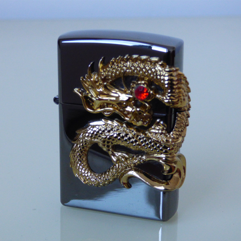 God Dragon  Electric Pulse Double Arc  USB Charging Cigarette Plasma Lighter Men USB Business Gifts Lighters