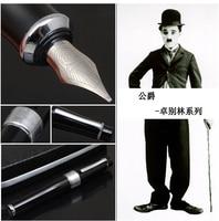 ดยุค2009ก้อนสีดำแชปลินR OLLER B ALLปากกา/ปากกาน้ำพุศิลปินของขวัญปากกา