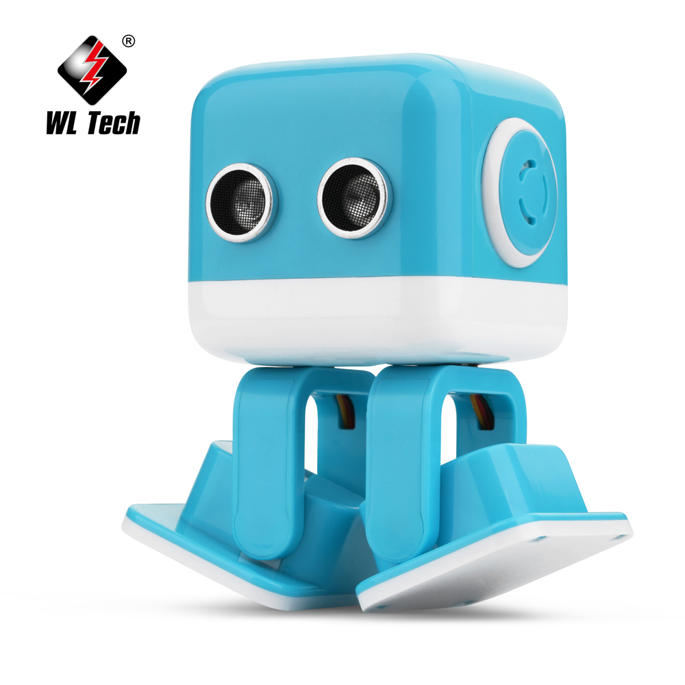 US $43 79 53% OFF|WLToys Cubee F9 Remote Control Application Programming  Intelligent Robot Music Dancing RC Robots Learning Educational Toys-in RC
