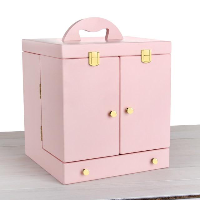 Online-Shop Weiß, rosa Hot hand kommode mit spiegel make-up kassette ...