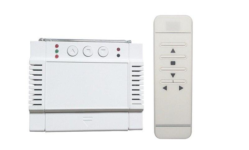 AC220V 250 V 110 V 2CH affichage numérique intelligent RF télécommande commutateur écran de projection/moteur tubulaire porte de garage/volets