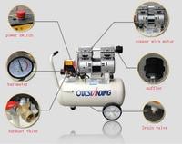 Aletler'ten Pnömatik Aletler'de 18L taşınabilir hava kompresörü 0.7MPa elektrikli hava pompası sprey boya hava kompresörü ekonomik özel Piston dolum makinesi