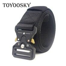 Fashion Military Tactical Moisture-Wicking Canvas Men Belt Outdoor Canvas Belt for Men Women Children Belt TOYOOSKY цена