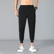 Mens Harem Pants Spring Autumn Casual Jogger Hip Hop Ankle-Length Black Pants 2019 Plus Size Solid Summer Pants Joggers Trousers цена в Москве и Питере