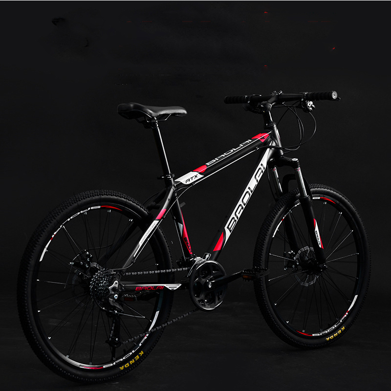 26 Inch Speed Mountain Bike Disc Brake V Brake Student Sports Bicicletas