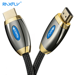 RAXFLY HDMI 2.0 Cable 4K 3D HDMI to HDMI Cable For TV LCD Laptop Projector Computer Durable 1M 3M 5M Gold-plated HDMI Cables