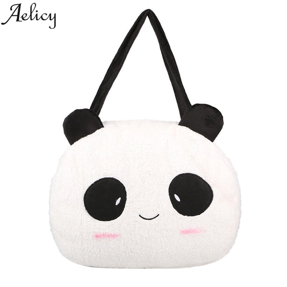 Aelicy Fashion New Handbags High quality Women Bag Famous Brands Cartoon Print Panda Sweet Ladies Shopping Shoulder Bag ...