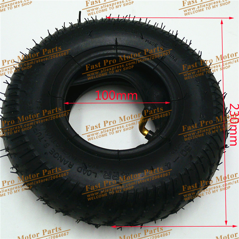 QIND Tyre <font><b>2.80/2.50</b></font>-<font><b>4</b></font> Scooter Tire & Inner Tube Set Suits Schwinn, Free Shipping image