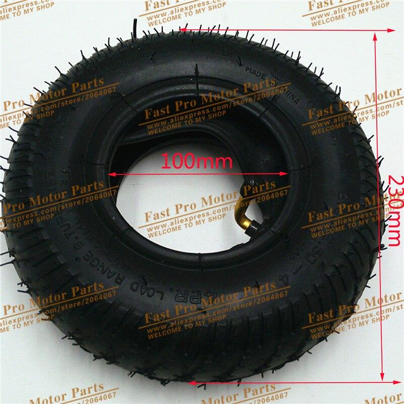 QIND Tire 2.80/2.50-4 ensemble de pneus et de chambres à air pour Scooter Schwinn, livraison gratuite