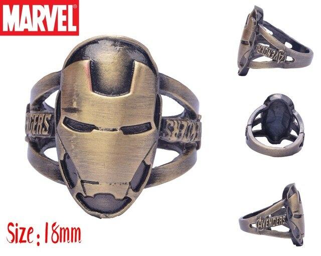 Кольцо с логотипом Железный человек Марвел