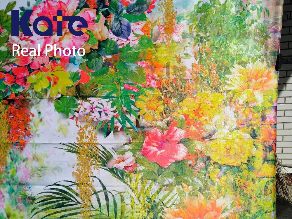 Kate 10ft European Painting peisaj de flori fundal de primăvară - Camera și fotografia - Fotografie 3