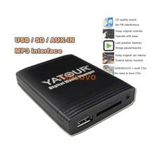 YATOUR Digital Music Changer USB SD AUX MP3 Adapter for VW Radio Alpha 5 Beta 5 Gamma 5 Rhapsody Beetle Gamma CD