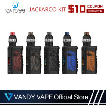 Original 100w Vandy vape JACKAROO KIT E-Cigarette Vapor SUBTANK System With Vandyvape JACKAROO Mod WaterProof Without Battery(China)