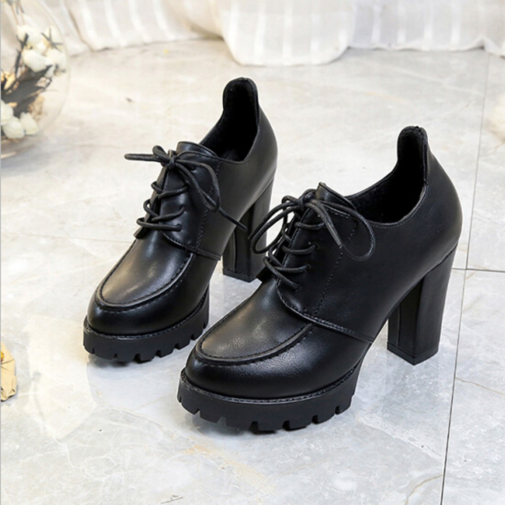 Fashion Women High Heel Thick Heel Shoes ointed Toe Pumps Dress Shoes High Heels Boat Shoes Wedding Shoes 2018 women yellow high heel pumps pointed toe metal heels wedding heel dress shoes high quality slip on blade heel shoes