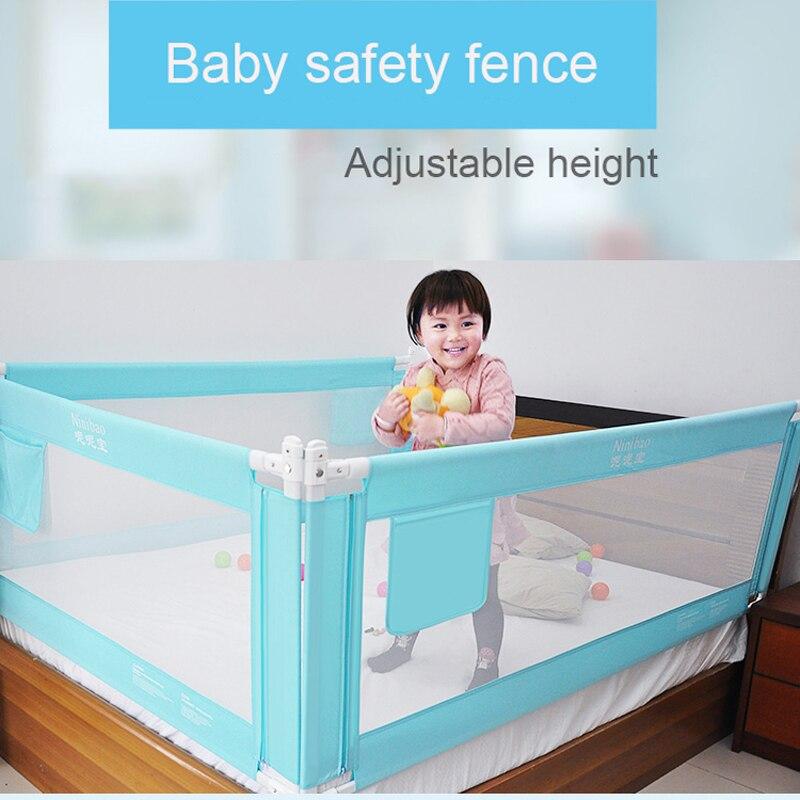 baby bed fence home kids playpen safety gate products child care barrier for beds crib rails. Black Bedroom Furniture Sets. Home Design Ideas