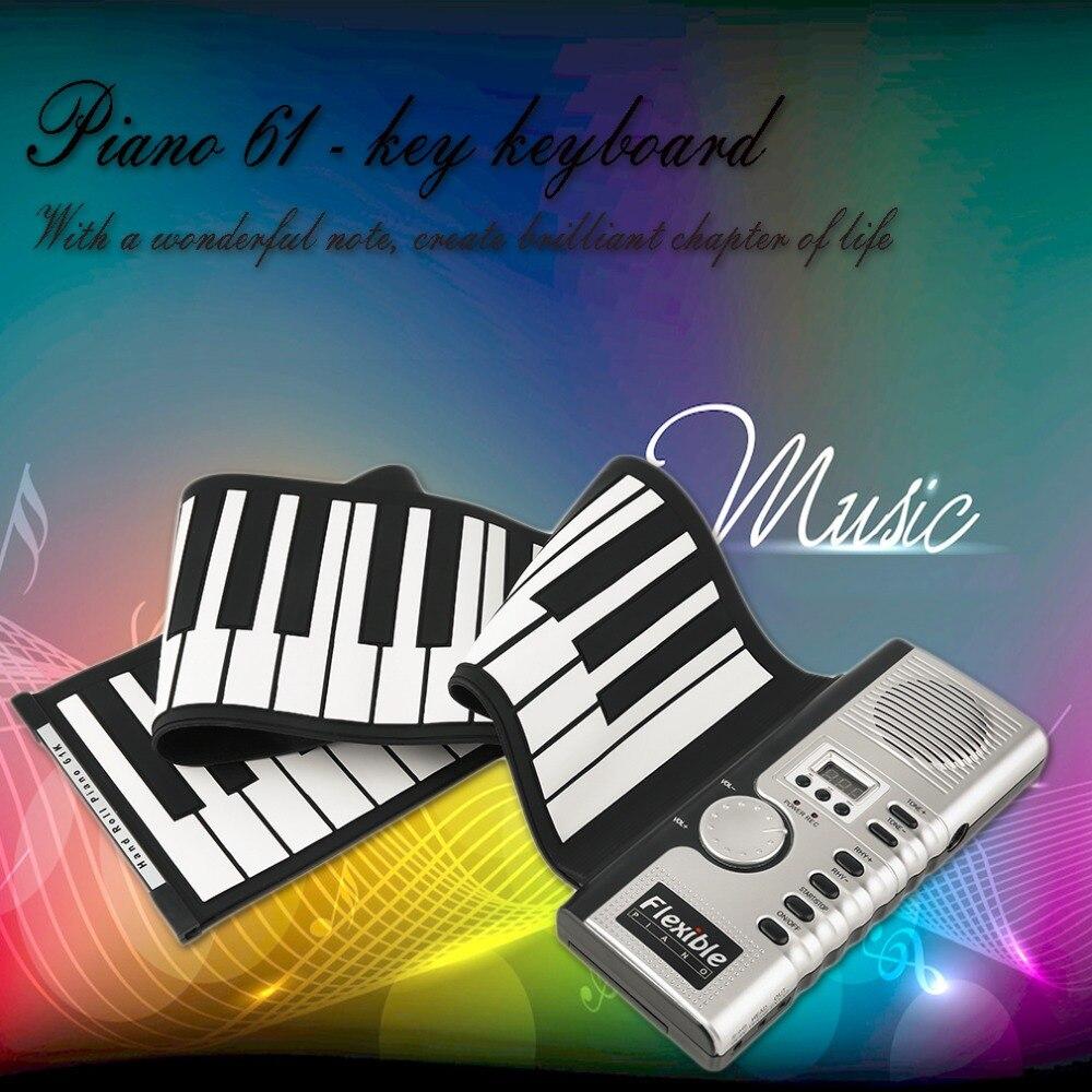 61 touches universel Flexible retrousser Piano électronique clavier souple Piano livraison gratuite
