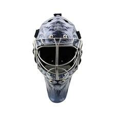 2018 защитные механизмы углеродного волокна вратаря хоккей шлем с металлической маской