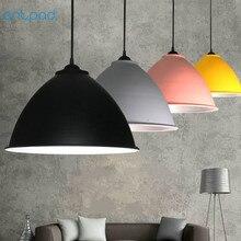 Artpad Nordic Modern Industrial Pendant Lamp AC 110V-220V Aluminium Sconces Bar Light For Home Office E27 LED Lighting