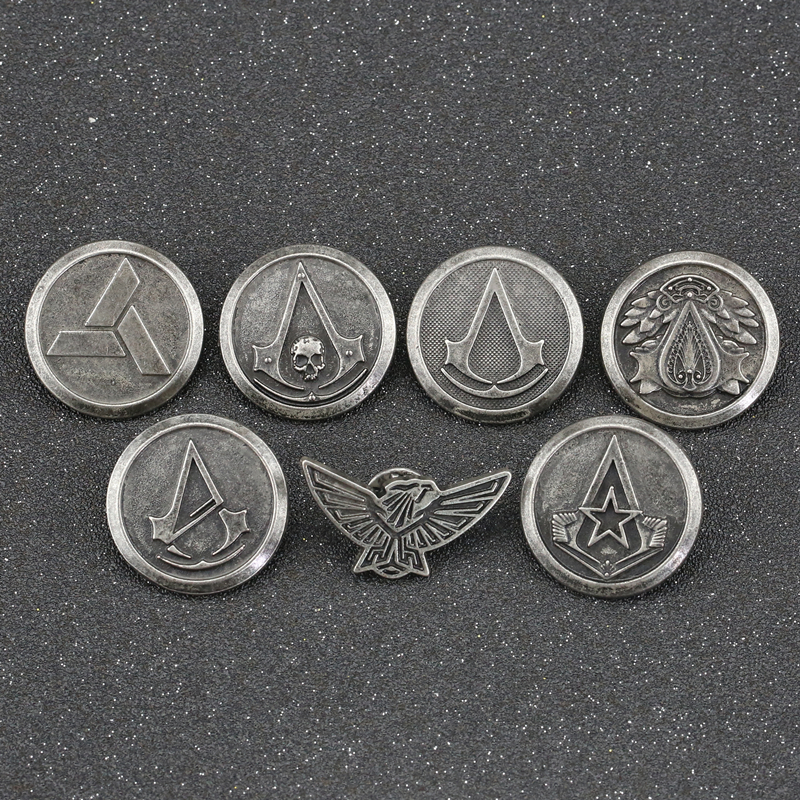 ASSASSINS CREED - Pins Crest - Abysse Corp