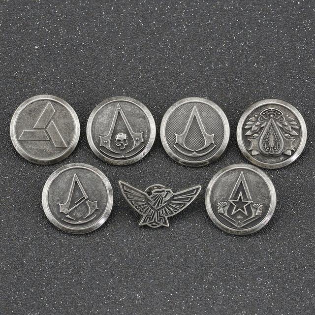 Assassins Creed Brooch Pin
