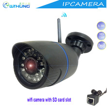 Wireless wired IP camera 720P 960P 1080P CMOS Sensor Support SD card Max32G motion detector for CCTV Video monitor IP cam system