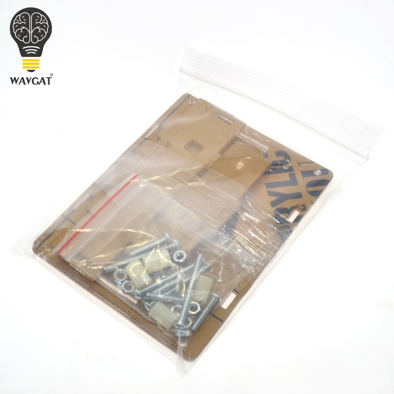 WAVGAT LCR-T4 Box Clear Acrylic LCR-T3 Case Shell Housing For LCR-T4 Transistor Tester ESR SCR/MOS LCR T4