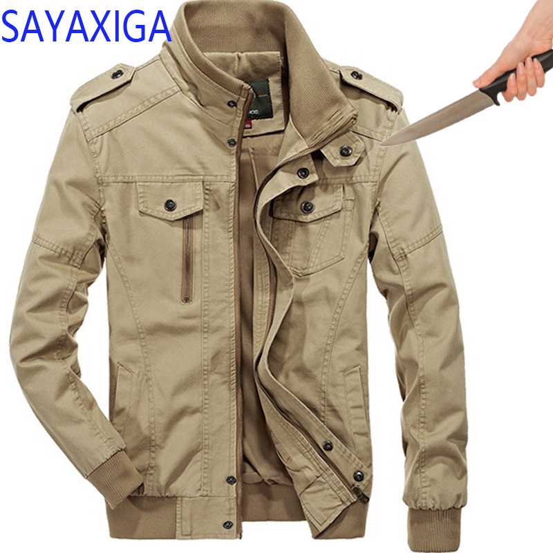 Careful Self Defense Anti-cut Jacket Men Anti Stab Clothing Anti-knife Cut Resistant Hooded Velvet Outfit Stealth Stab Jackets Coatxxxxx Back To Search Resultsmen's Clothing