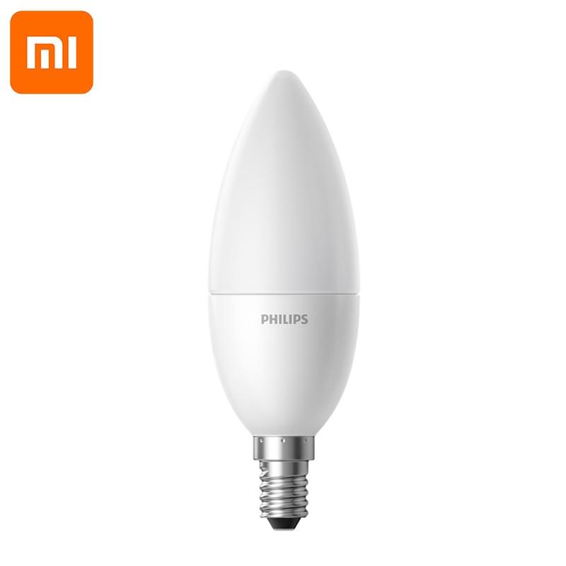 Image 2 - Original Xiaomi Smart LED Lamp Wifi Remote Control by Mi home App E14 Bulb 3.5W 0.1A 220 240V 50/60Hz 250ml/200ml smart Home kit-in Smart Remote Control from Consumer Electronics