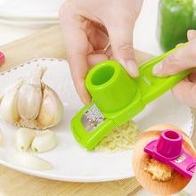 Kichen аксессуары кухонный инструмент домашние гаджеты многофункциональные из нержавеющей стали прессованный слайсер для чеснока резак измельчитель Кухня#3