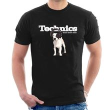TECHNICS - Teach them Well T-SHIRT Dog Headphones DJ Men Women and Kids S38 Harajuku Tops Fashion Classic Unique t-Shirt gift