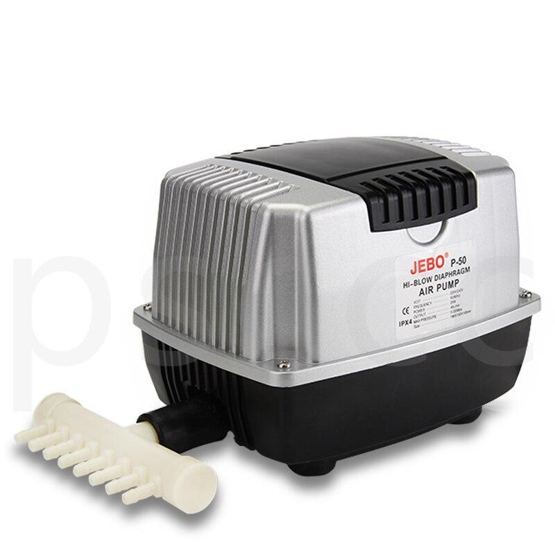 10W 25W 45W 75W 85W Low Noise Aquarium Air Pump for Koi Fish Septic Tank Oxygen