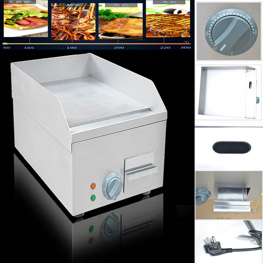 1pcs FY-300 ,all with stainless steel beefsteak cooking tool/ teppanyaki machine/ food frying pan it all begins with food