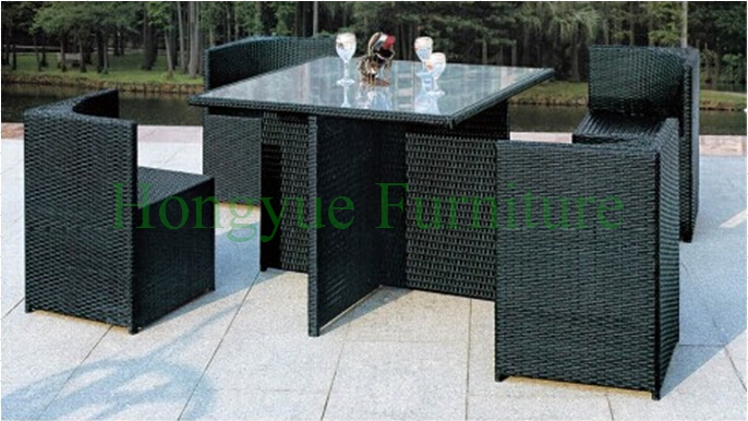 Dining Rattan Removable Tables Sets,dining Furniture Set