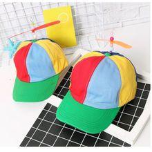 Verano niños niñas hélice gorras de béisbol niños Boy Casual libélula  algodón creativo partido Snapback sombreros 1715ef51ac5
