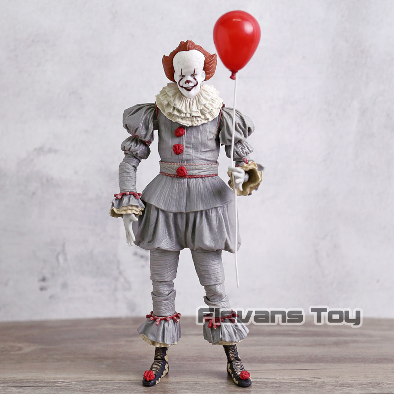 цены на Stephen King's It Pennywise Horror Movie Figures PVC NECA Toys Figure Action Collection Model Toy в интернет-магазинах