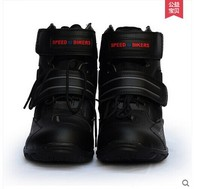 Motorcycle Boots Pro biker SPEED Moto Racing Motocross Motorbike Shoes A005 Black/White/Red size 38 45