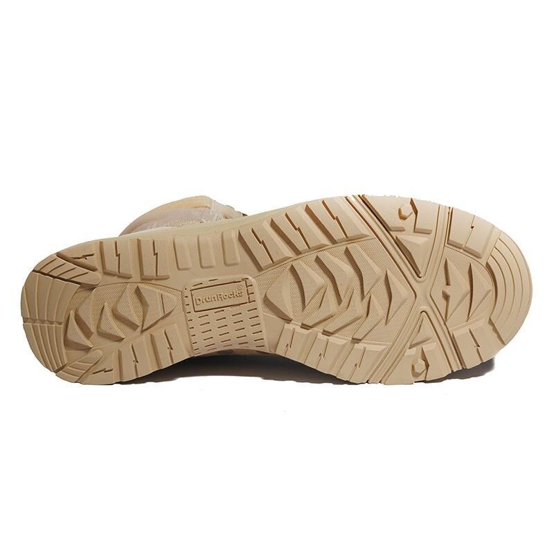 Drunrocks chiny buty wojskowe armii kobiet buty damskie odkryty Boot wojska obuwie damskie pustyni buty oddychające botki buty w Buty do kostki od Buty na  Grupa 2