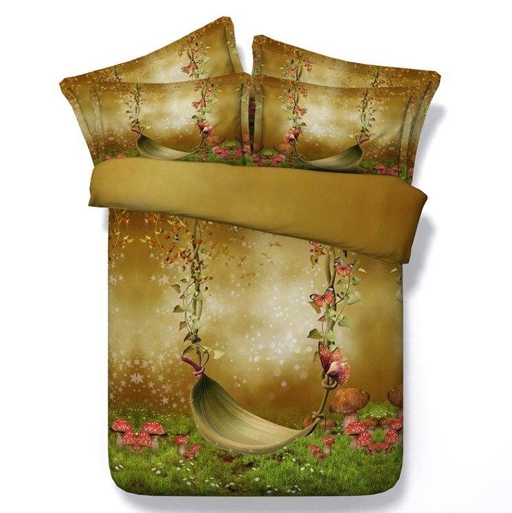 ᗛSetas edredón 3D juegos de cama edredón tamaño doble mariposa ...