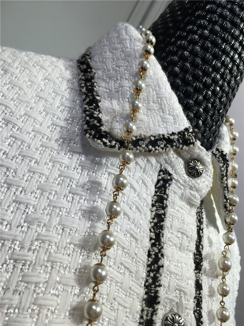women elegant office dress,custom plus size xs-6xl,tweed winter dress,ladies vestidos de fiesta,tweed autumn White dress 10
