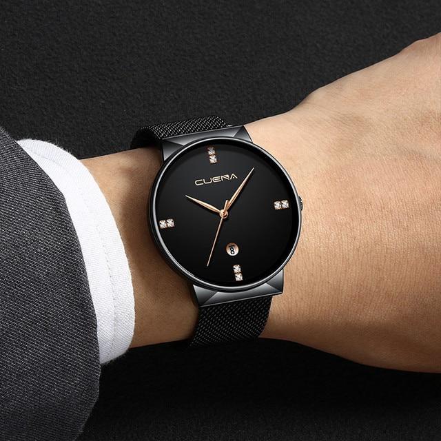 שעון יוקרה עם רצועת רשת 2020 3