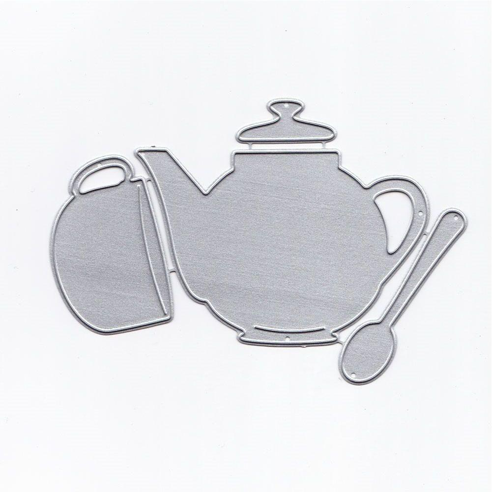US $2 76 OFF LanLan Teapot And Teacup Stamps And Dies For Card Making Metal Cutting Dies New 2018 Cutting Dies AliExpress