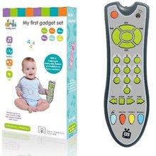 Dziecko pilot zabawka nauka światło zdalne dla dziecka kliknij liczyć zdalne zabawki dla chłopca dziewczyna niemowlę zabawka dla malucha dropshipping tanie tanio ONLENY 1 x Baby Remote Control Toy 433 mhz piece 0 16kg (0 35lb ) 20cm x 8cm x 5cm (7 87in x 3 15in x 1 97in) Gray Pink